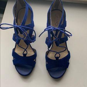 Blue Heeled Sandals By Sam Edelman Circus Emilia